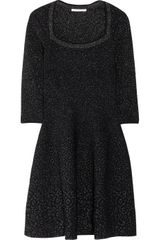 Antonio Berardi Glitterintarsia Stretch Knit Dress - Lyst