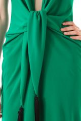 Bcbgmaxazria Lella Short Halter Dress in Green - Lyst