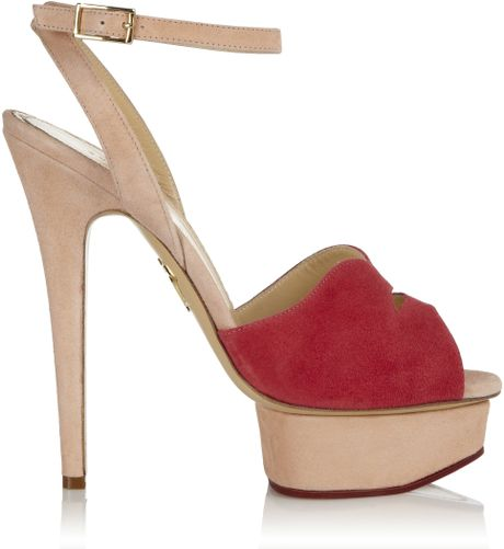 Charlotte Olympia Lipsy in Brown (red) - Lyst