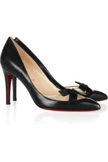 Christian Louboutin Love Me 85 Leather and Mesh Pumps - Lyst