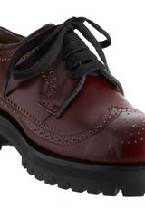 Marni Wingtip Oxford - Lyst