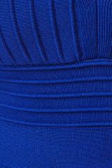 Nasty Gal Peplum Bandage Dress Blue in Blue - Lyst