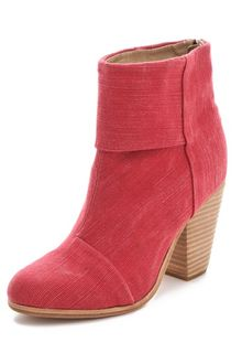 Rag & Bone Classic Newbury Canvas Booties - Lyst