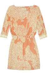 Rebecca Minkoff Sunny Floralprint Silk Crepe De Chine Dress - Lyst