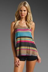 Splendid Canyon Stripe Tank - Lyst