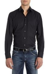 Dolce & Gabbana Solid Dress Shirt - Lyst