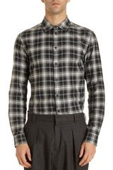 Givenchy Plaid Shirt - Lyst