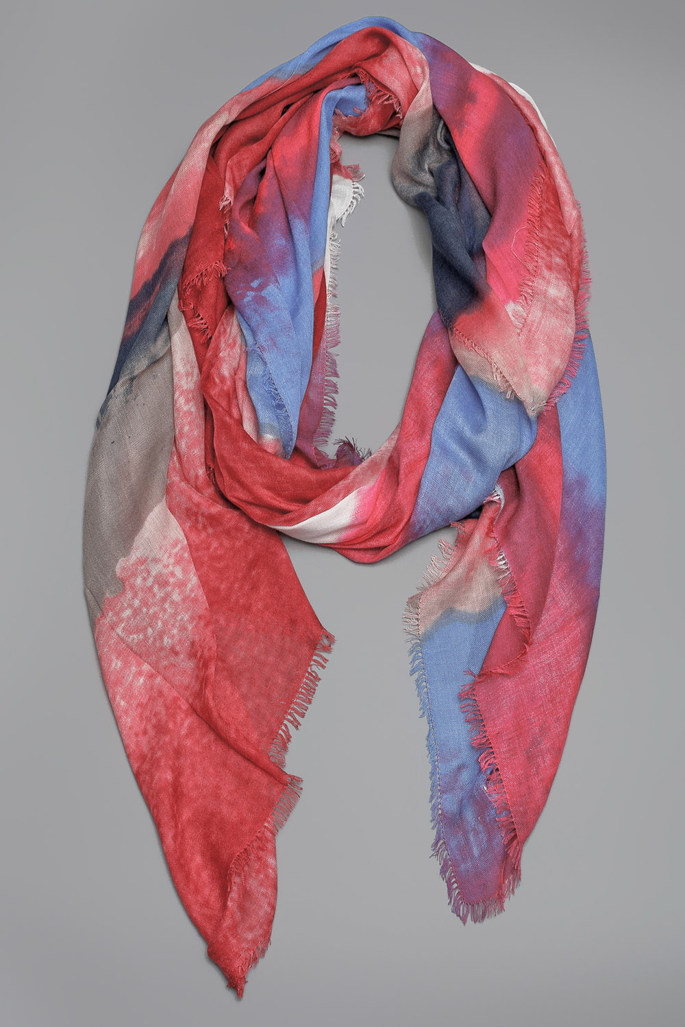 rag bone watercolor scarf in multicolor lyst