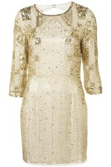 Topshop Disco Sequin Dress By Dress Up Topshop - Lyst
