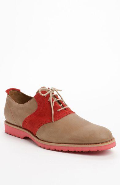 jd fisk jd fisk vern saddle shoe in brown for