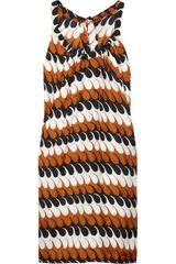 Marni Printed Silktwill Dress - Lyst