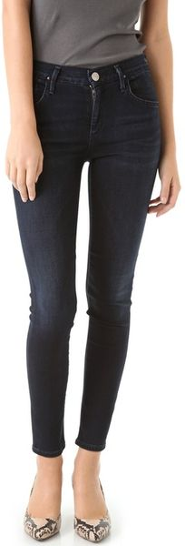 Goldsign Virtual High Rise Skinny Jeans - Lyst