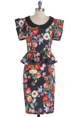 ModCloth Work with Me Dress in Floral - Lyst