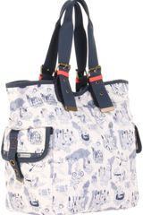 Lesportsac Triple Trouble Tote in Multicolor (happy campers) - Lyst