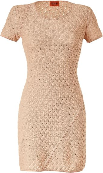 Missoni Opal Ajour Knit Dress - Lyst