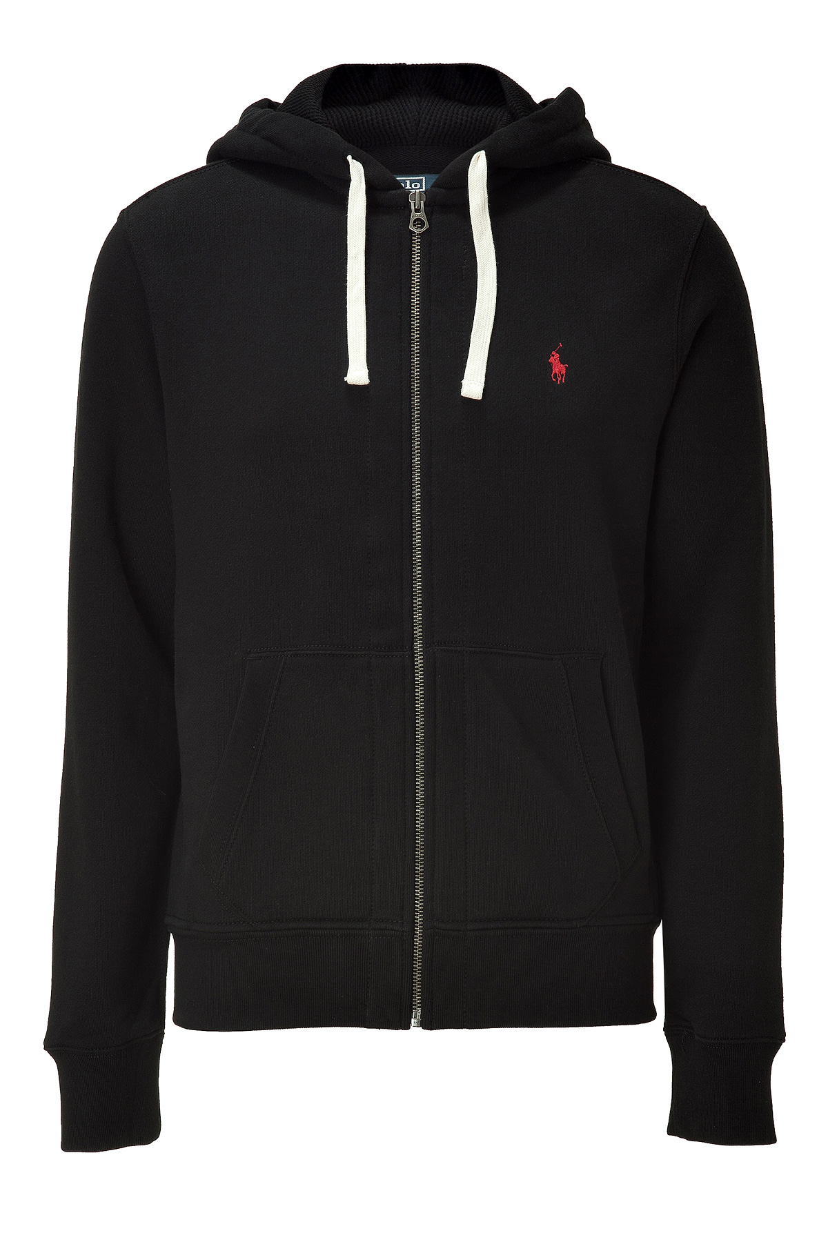 ralph lauren black classic athletic fleece hoodie in black. Black Bedroom Furniture Sets. Home Design Ideas