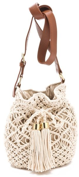 Tory Burch Claire Bucket Bag - Lyst