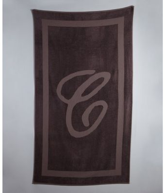Chloé Brown Terry Bath Towel - Lyst