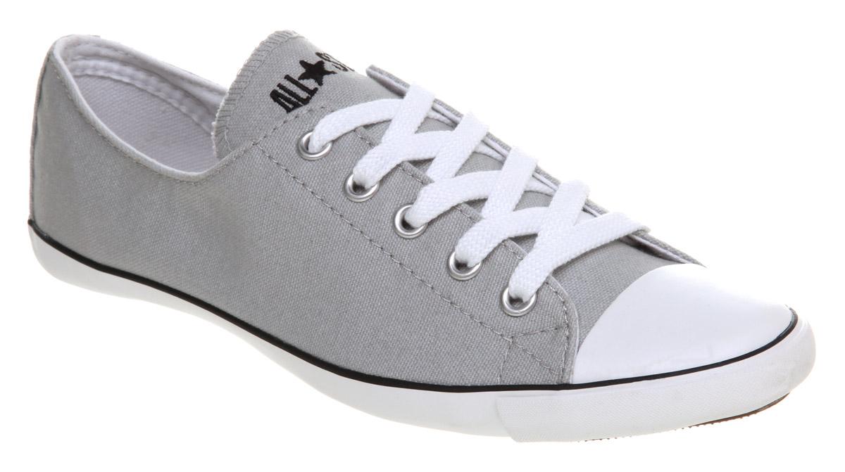 0ab0ac9f6b18 Converse Ct Lite Ox Washed Grey Smu in Gray - Lyst