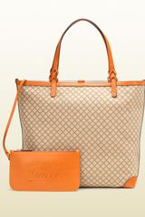 Gucci  Large Tote with Detachable Pocket - Lyst