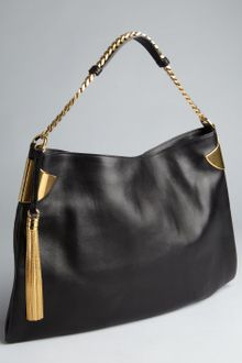 Gucci  Leather Chain Strap Shoulder Bag - Lyst