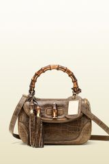 Gucci Medium Top Handle Bag - Lyst