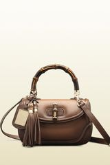 Gucci Collection Medium Top Handle Bag - Lyst