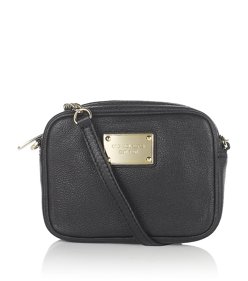 32b007612b9987 Michael Kors Jet Set Crossbody Bag Black | Stanford Center for ...