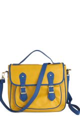 ModCloth Royal Blue Engagement Bag - Lyst