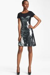 Moschino Cheap & Chic Sequin Dress - Lyst