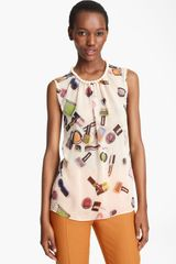 Moschino Cheap & Chic Print Blouse - Lyst
