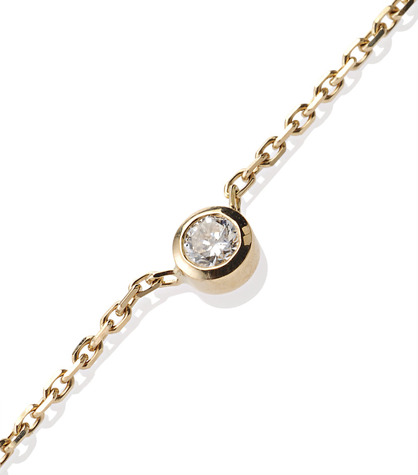 Redline Pure Yellow Gold Diamond Necklace in Yellow | Lyst