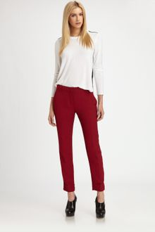 Theory Daniya Wool Pants - Lyst