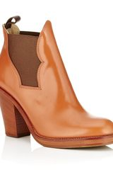 Acne Star Ankle Boot - Lyst