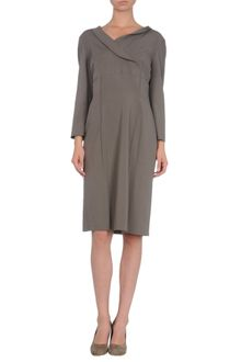 Alberta Ferretti Short Dress - Lyst