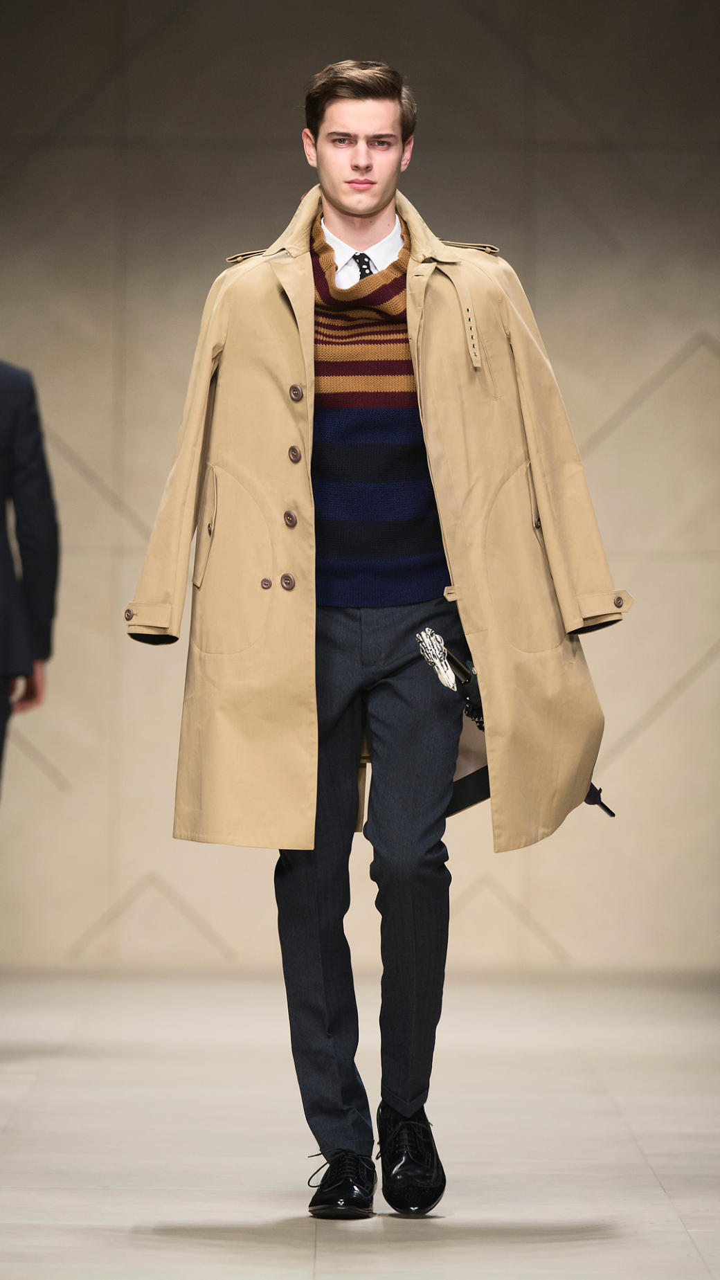 male models from burberry 2013 burberry prorsum fitted ...