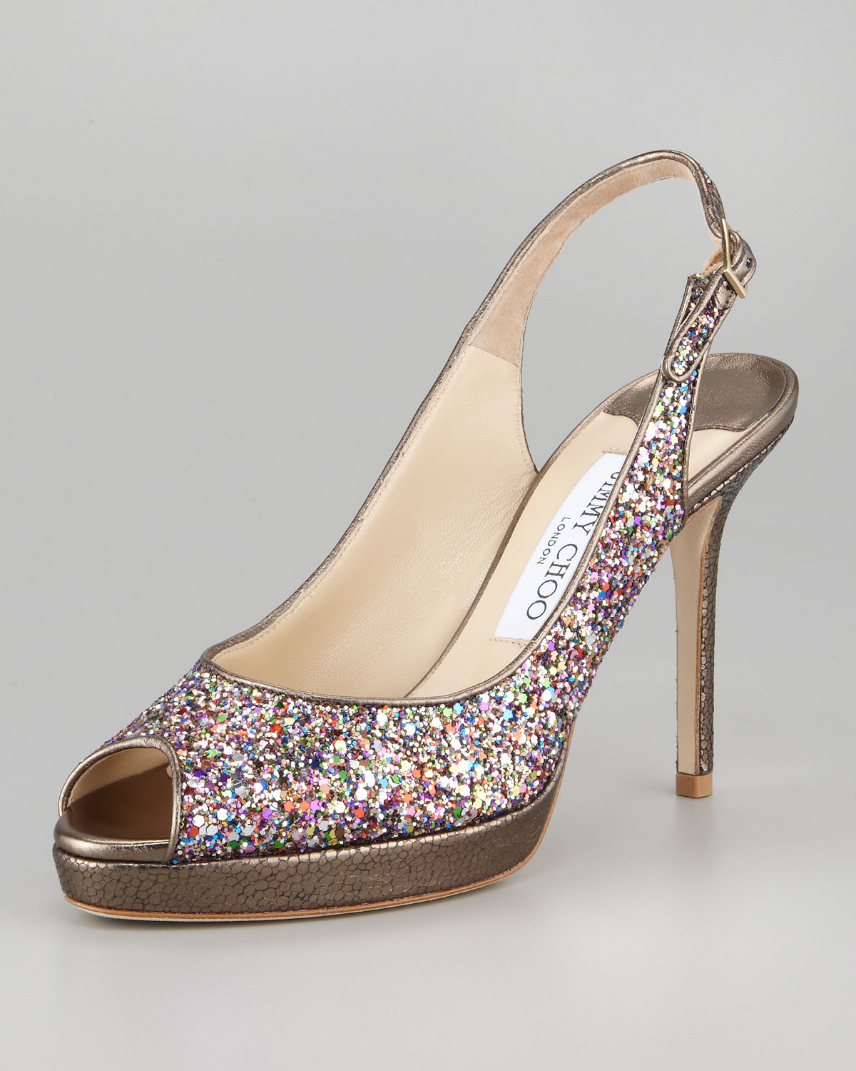 Jimmy Choo Nova Glitter Pumps free shipping buy cheap wide range of discount browse cheap price fake wioPD496