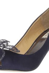 Badgley Mischka Womens Regine Opentoe Pump - Lyst