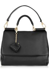 Dolce & Gabbana Miss Sicily Leather Shoulder Bag - Lyst