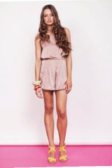 Finders Keepers Let It Rain Playsuit - Lyst