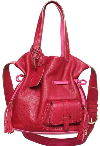 Lancel Easy Flirt Grained Leather Shoulder Bag - Lyst
