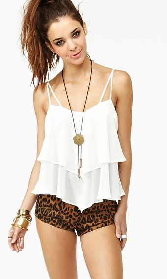 Nasty Gal Float On Tank - Lyst