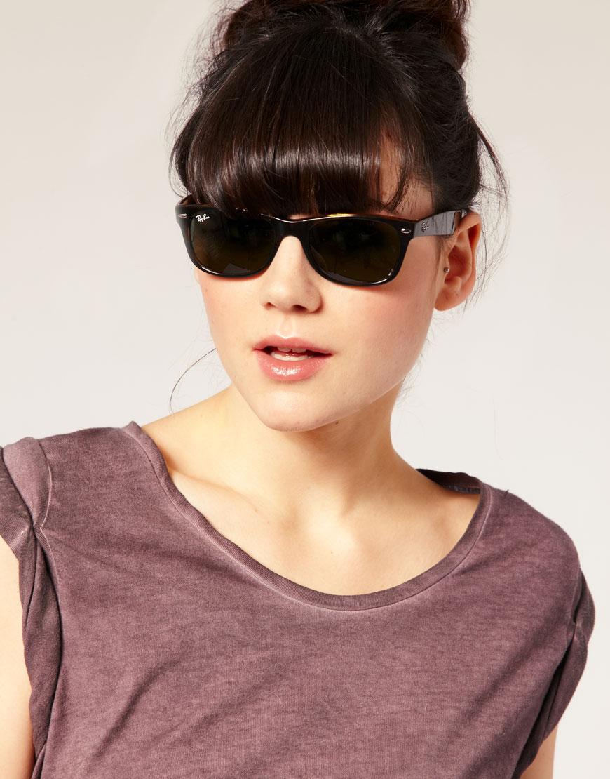 aeb502f36f Lyst - Ray-Ban Rayban New Wayfarer Sunglasses