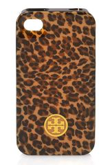 Tory Burch Iphone Case 4 Silicone - Lyst