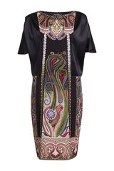 Etro Silk Dress - Lyst