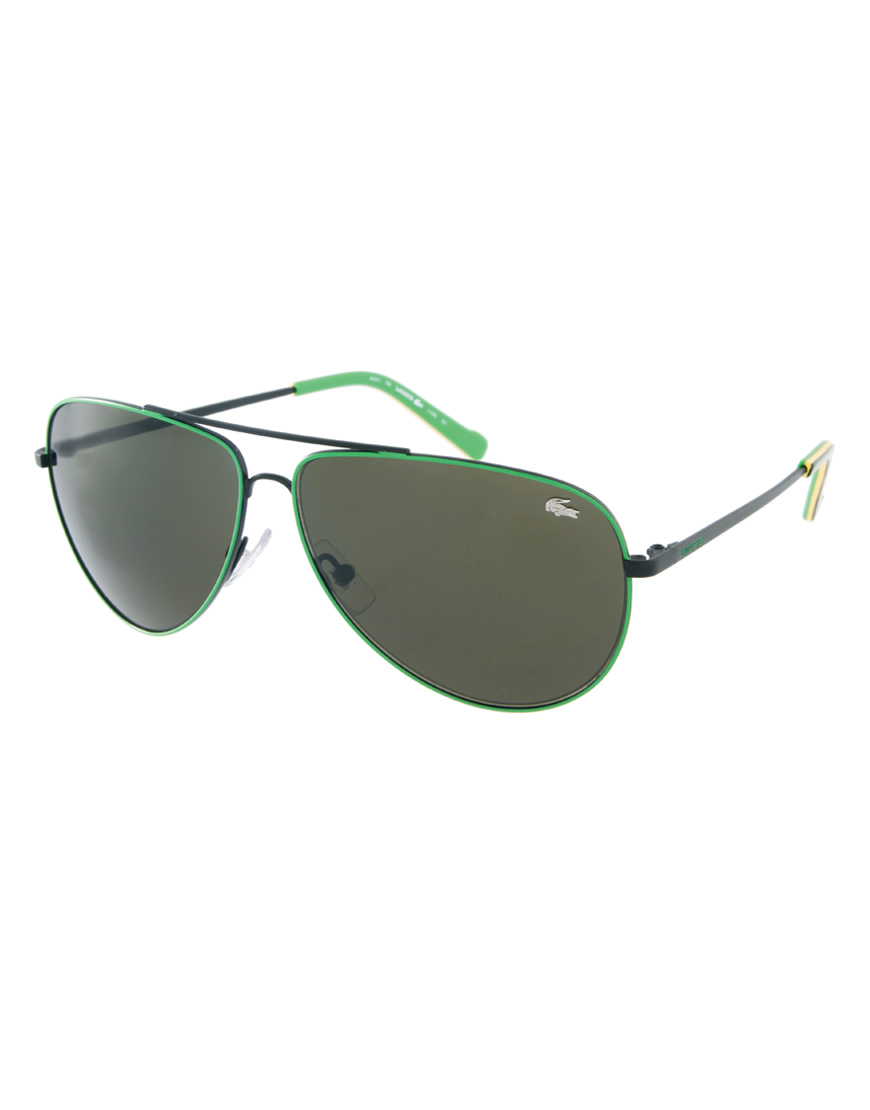 edbf265a58ee Lacoste Sunglasses Men Aviator
