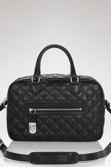 Marc Jacobs Satchel Quilted Leather Manhattan - Lyst
