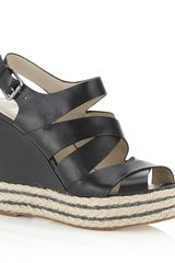 Michael by Michael Kors Clare with Chain Wedge - Lyst