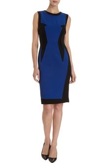Prabal Gurung Contrast Front Panel Dress - Lyst