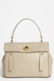 Yves Saint Laurent Muse Two Leather Satchel - Lyst